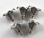metalen-kralenkap-voor grote kralen