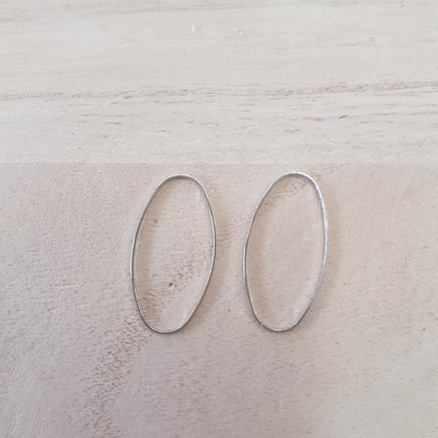 Ovale ring 30x15mm