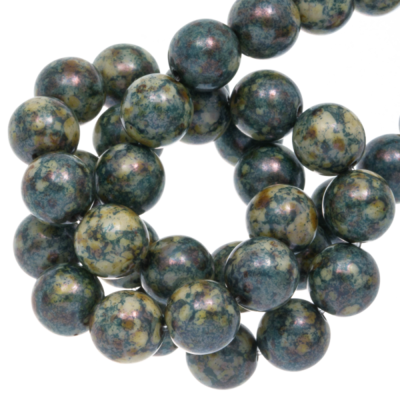 DQ Glaskraal marble platina 8mm