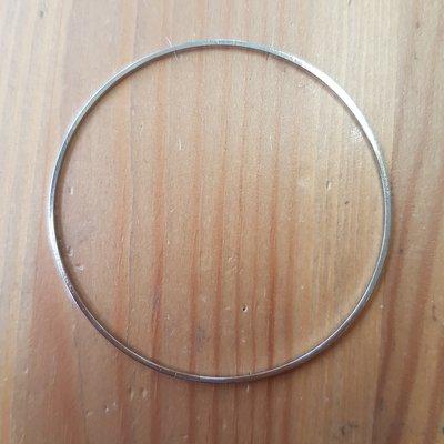 Ronde ring 50mm metaal