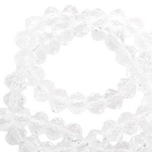 Top Facetkraal rondel crystal