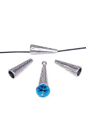 Metalen kralenkap