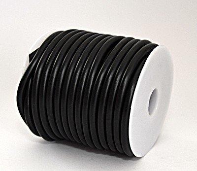 Rubberkoord zwart 5mm