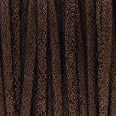 Waxkoord bruin 2mm