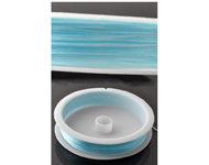 Elastiek 0.5mm Lichtblauw