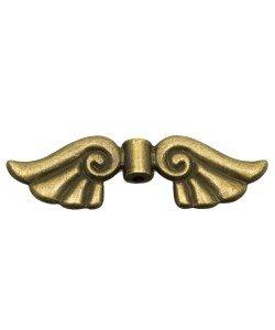 Metalen kralenwing brons