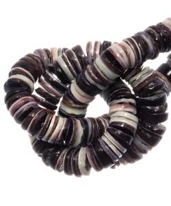 Schelpkralen 4-5mm Violet Oyster shell
