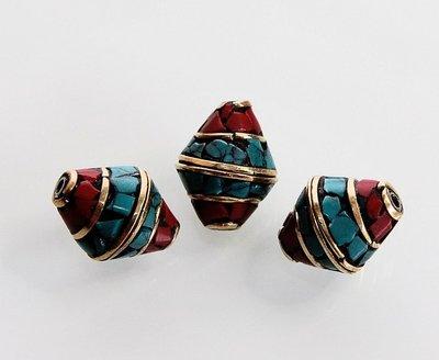 Handemade Tibetan kralen