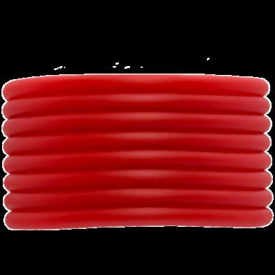 Rubberkoord rood 4mm