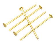 Nietstiften goud 30mm