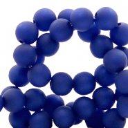 Polaris rond mat cobalt blauw 6mm