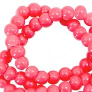 3mm glaskraal rouge rood