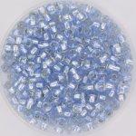 Miyuki 8/0 Silverlined light sapphire