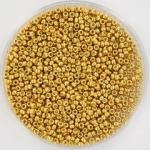 Miyuki 15/0 Duracoat galvanized gold