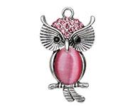 bedel-hanger-uil-met-strass roze