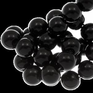Glasparels Black 6mm