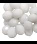 Facetkraal rondel White 8x6mm