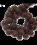 Sparkling beads 8 mm hazelnoot bruin