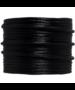 Satijnkoord zwart, 2mm